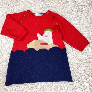 Petit Clayeux Quirky Boat Sweater Dress